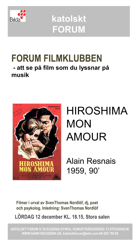 Filmklubben 12 december