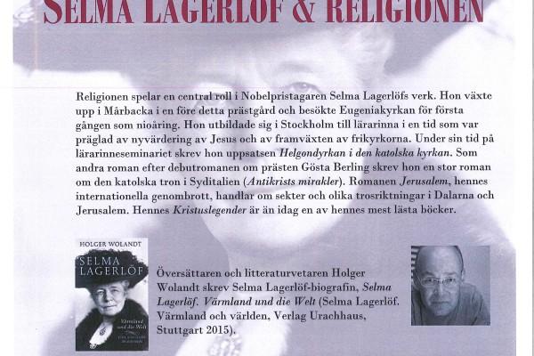 Selma Lagerlöf 18 feb